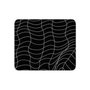 Mouse Mats Warped Checkered Pattern Mouse Mat