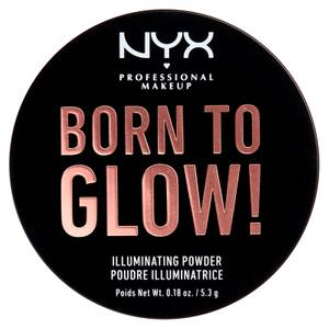 NYX Professional Makeup Born to Glow Illuminating Powder 5.3g (Various Shades)