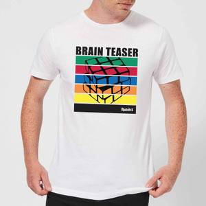 Rubik's Brain Teaser Men's T-Shirt - White