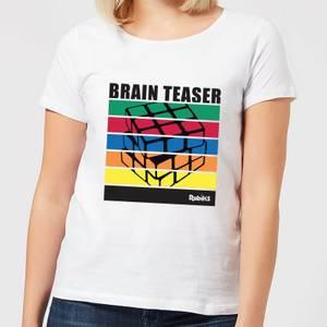 Rubik's Brain Teaser Women's T-Shirt - White