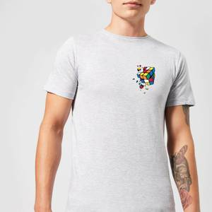Rubik's Smash Cube Men's T-Shirt - Grey
