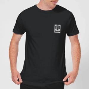 Rubik's Rubiks Box Pocket Men's T-Shirt - Black