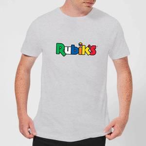 Rubik's Core Logo Men's T-Shirt - Grey