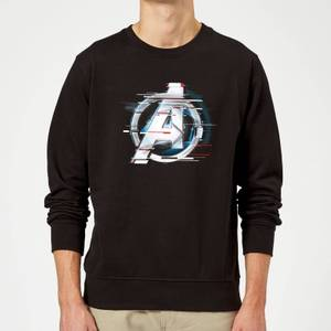 Avengers: Endgame White Logo Sweatshirt - Black