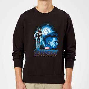 Avengers: Endgame Hawkeye Suit Sweatshirt - Black