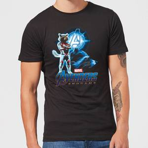 Avengers: Endgame Rocket Suit Men's T-Shirt - Black