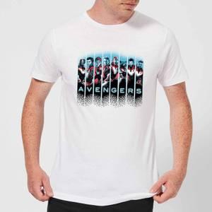 Avengers: Endgame Character Split Men's T-Shirt - White