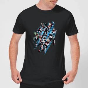 T-shirt Avengers: Endgame Logo Team - Homme - Noir