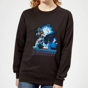 Avengers: Endgame Hulk Suit Women's Sweatshirt - Black