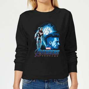 Avengers: Endgame Hawkeye Suit Women's Sweatshirt - Black