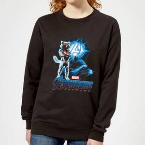 Avengers: Endgame Rocket Suit Women's Sweatshirt - Black