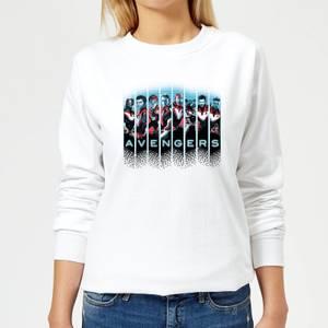 Avengers: Endgame Character Split Women's Sweatshirt - White