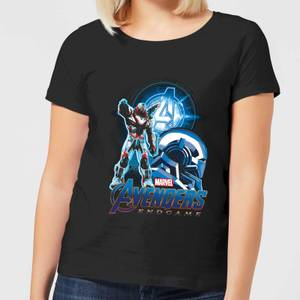 Avengers: Endgame War Machine Suit Women's T-Shirt - Black