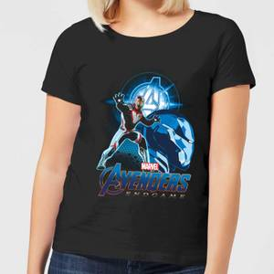 Avengers: Endgame Iron Man Suit Women's T-Shirt - Black