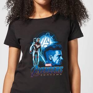 T-shirt Avengers: Endgame Hawkeye Suit - Femme - Noir