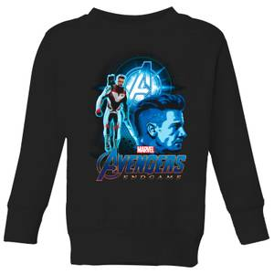 Avengers: Endgame Hawkeye Suit Kids' Sweatshirt - Black