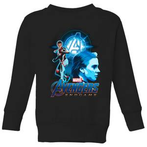 Avengers: Endgame Widow Suit Kids' Sweatshirt - Black