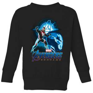 Sweat-shirt Avengers: Endgame Iron Man Suit - Enfant - Noir