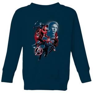 Avengers: Endgame Shield Team Kids' Sweatshirt - Grey
