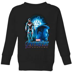 Avengers: Endgame Thor Suit Kids' Sweatshirt - Black
