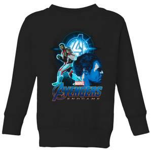 Sweat-shirt Avengers: Endgame Hulk Suit - Enfant - Noir