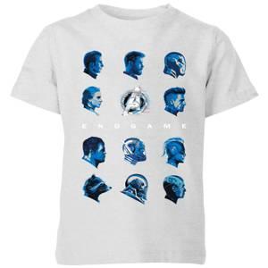 Avengers: Endgame Heads Kids' T-Shirt - Grey