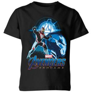 Avengers: Endgame Iron Man Suit Kids' T-Shirt - Black