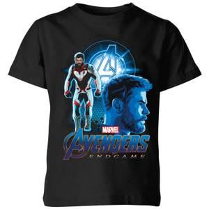 T-shirt Avengers: Endgame Thor Suit - Enfant - Noir