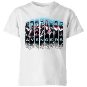 Avengers: Endgame Character Split Kids' T-Shirt - White