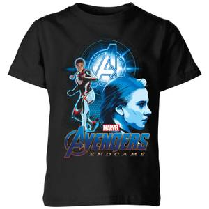 T-Shirt Avengers: Endgame Widow Suit - Nero - Bambini