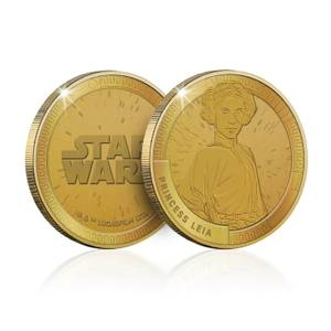 Collectible Star Wars Commemorative Coin: Princess Leia - Zavvi Exclusive (Limited to 1000)