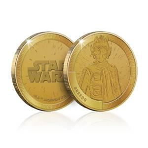 Collectible Star Wars Commemorative Coin: Greedo - Zavvi Exclusive (Limited to 1000)