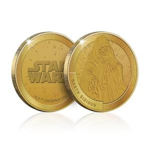 Collectable Star Wars Commemorative Coin: Darth Sidious - Zavvi Exclusive (Limited to 1000)
