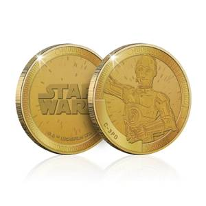 Collectible Star Wars Commemorative Coin: C-3PO - Zavvi Exclusive (Limited to 1000)
