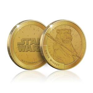 Collectible Star Wars Commemorative Coin: Ewok (Wicket) - Zavvi Exclusive (Limited to 1000)