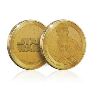 Collectable Star Wars Commemorative Coin: Luke Skywalker - Zavvi Exclusive (Limited to 1000)