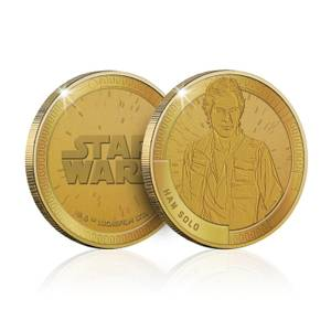 Collectable Star Wars Commemorative Coin: Han Solo - Zavvi Exclusive (Limited to 1000)