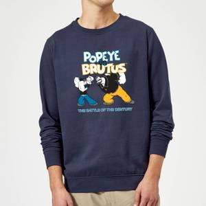 Popeye Popeye Vs Brutus Sweatshirt - Navy
