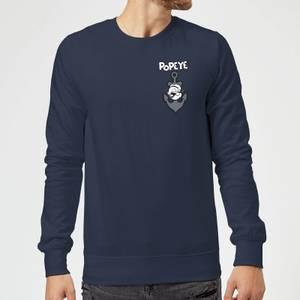 Popeye Anchor Sweatshirt - Navy