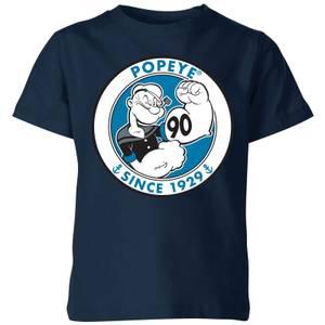 Popeye Popeye 90th Kids' T-Shirt - Navy