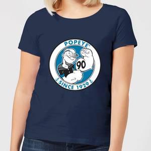 Popeye Popeye 90th Women's T-Shirt - Navy