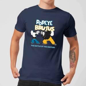 Popeye Popeye Vs Brutus Men's T-Shirt - Navy
