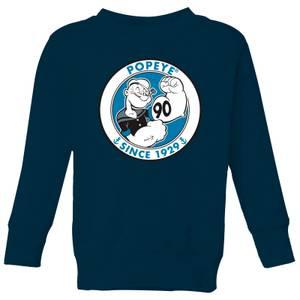 Popeye Popeye 90th Kids' Sweatshirt - Navy