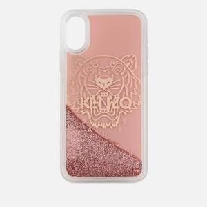 KENZO Women's Glitter Tiger iPhone Case - Pink