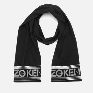 KENZO Women's Kenzo Sport Jersey Scarf - Black