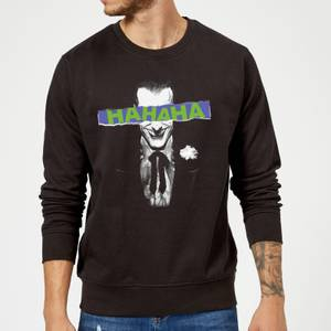 DC Comics Batman Joker The Greatest Stories Sweatshirt in Black