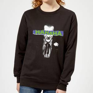 Batman Joker The Greatest Stories Women's Sweatshirt - Black