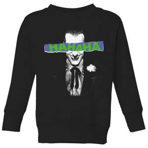 Batman Joker The Greatest Stories Kids' Sweatshirt - Black