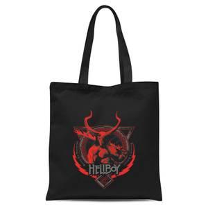 Hellboy Hell's Hero Tote Bag - Black