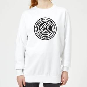Hellboy B.P.R.D. Women's Sweatshirt - White